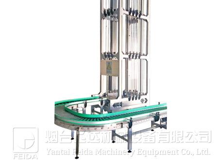 翻板式垂直输送机